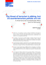 The threat of terrorism is ebbing, but US counterterrorism policies are not