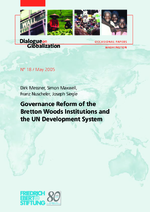 Governance reform of the Bretton Woods institutions and the UN development system